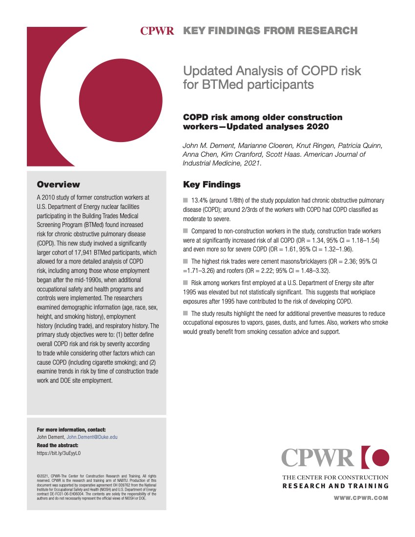 Key Finding -- COPD study