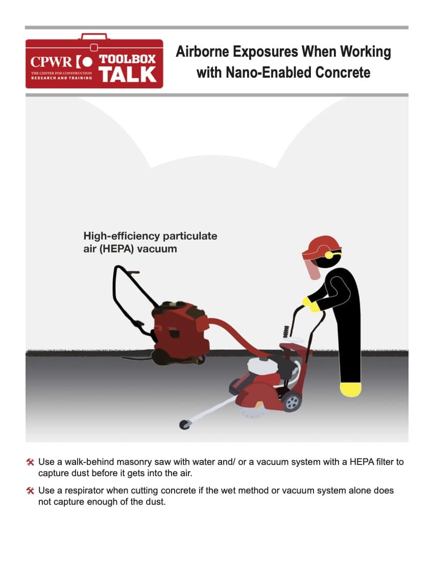 Toolbox Talk -- Nano-enabled concrete