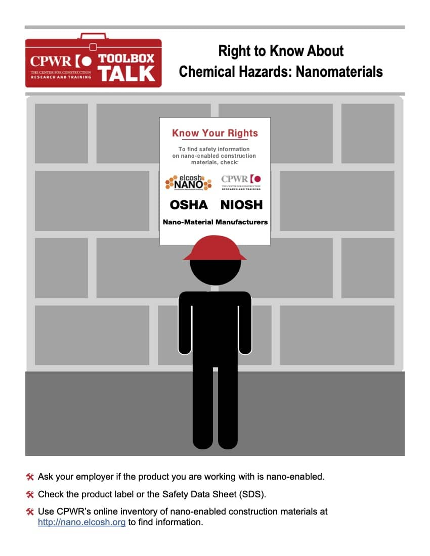 Toolbox Talk on Chemical hazards