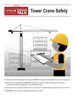 Tower Crane Safety Toolbox Talk thumbnail